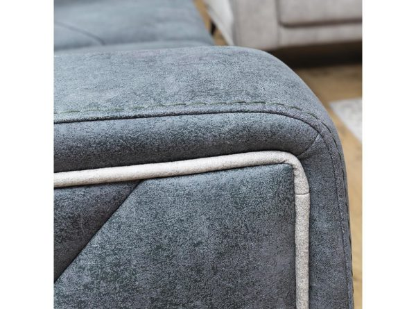 basak 2 or 3 seater sofa with pattern in upholstery
