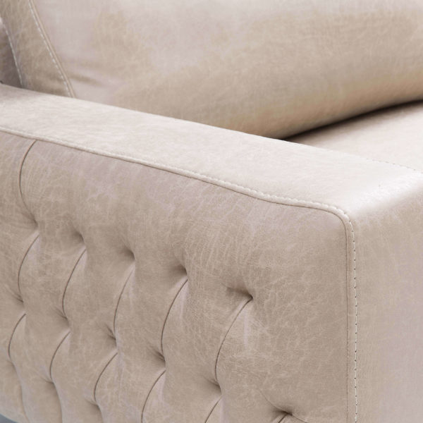 asya chesterfield style modern contemporary sides sofas detail