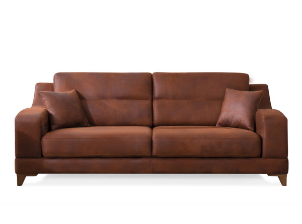 Dolunay two or three seater sofa with integrated coffee table on sides