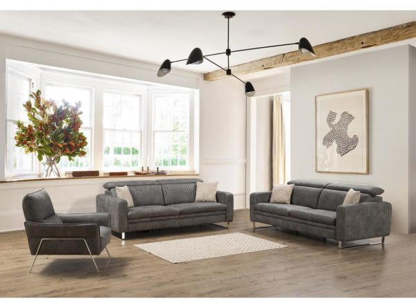 modern 2 or 3 seater sofa with electric recliner