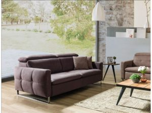 comfortable two or three seater sofa
