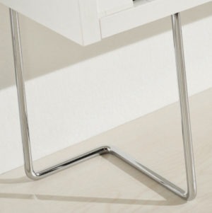 Chrome Legs for Shoe Cabinet