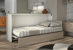 Space-saving murphy bed