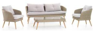 4-piece garden sofa set