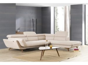 corner sofa anti bacterial fabric with lounge