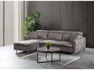 chaise longue lounge sofa in anti bacterial fabric